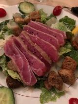 Ahi Caesar Salad- THE BEST- @Raintree Restaurant, St Augustine, FLA