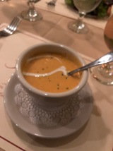 Lobster bisque @The Raintree, St. Augustine, FLA